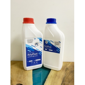 PolyPlast (монопласт) - жидкий пластик  (комплект 1,5 кг)